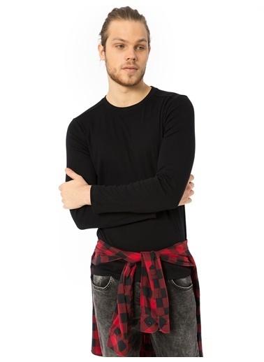 LC Waikiki Uzun Kollu Sweatshirt Siyah